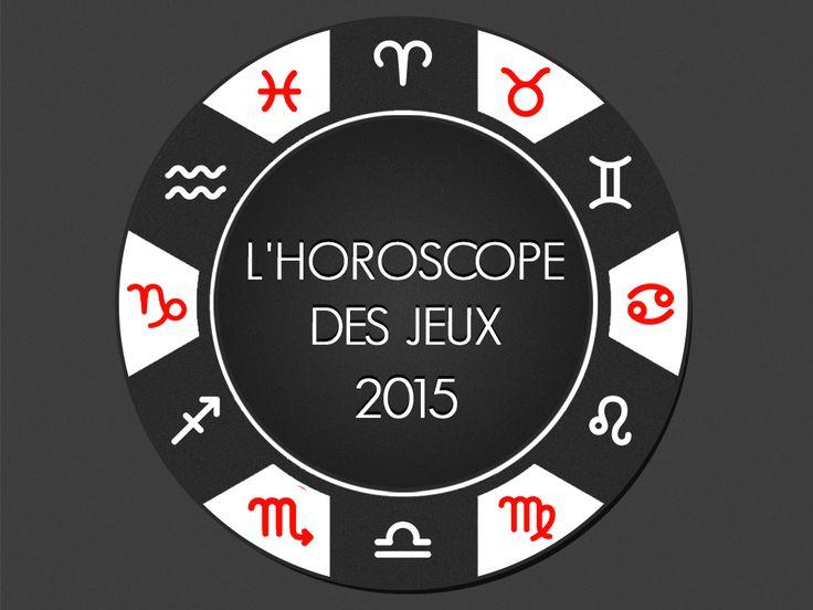 Obtenez gratuitement des prédictions de chance basées sur les signes du Zodiaque pour l'année qui vient. Jetez un œil sur l'Illustration de l'Horoscope des Jeux 2015 de MachinesaSousX.