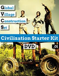 The Civilization Starter Kit currently contains all the training materials you need to build 4 out of 50 Global Village Construction Set machines (Beta v0.01). Join our global network of independent replicators creating a sustainable, open source economy