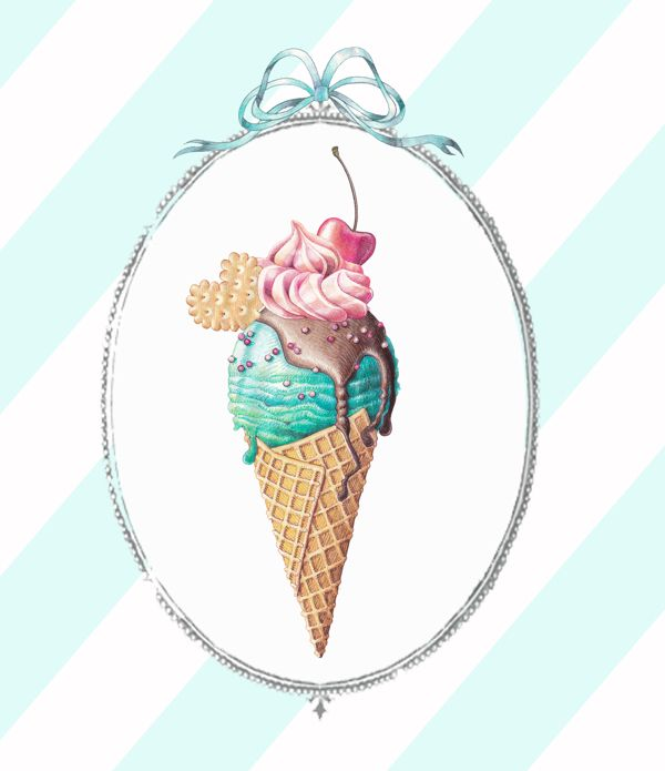 I don't know what use this could ever be to me, but I love it! Color combo and everything! Incidentally, I also love ice cream.