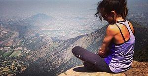 Subir cerros, un deporte entretenido