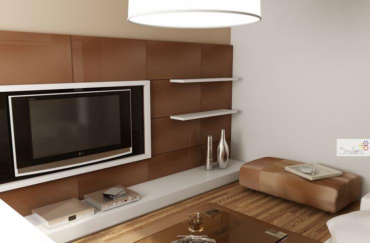 Reorganizarea şi amenajarea unui apartament de doar 50 mp!