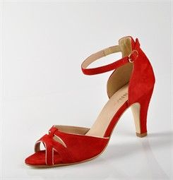 Chaussures FEMME - SANDALES ROUGE - DONNA CLUB - Chaussures Desmazieres