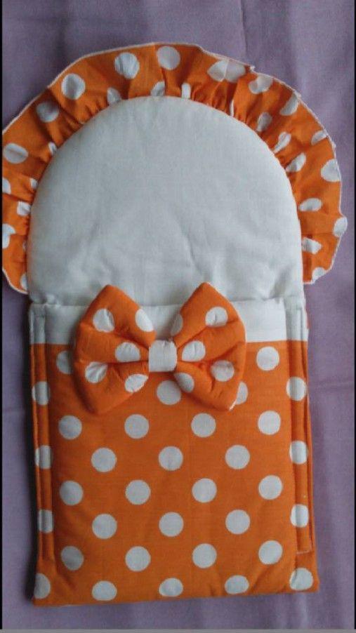 Matajka / Zavinovačka pre bábiku - oranžová