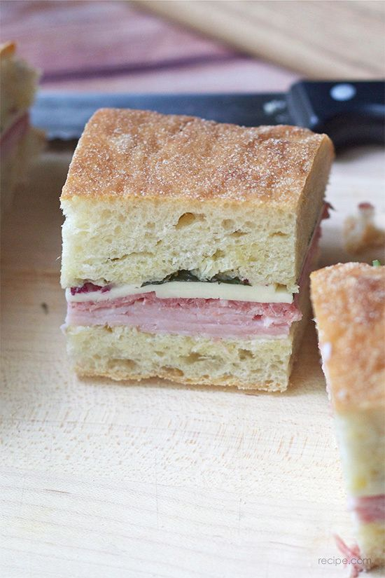 Pressed Italian Sandwiches: Picnic Perfection