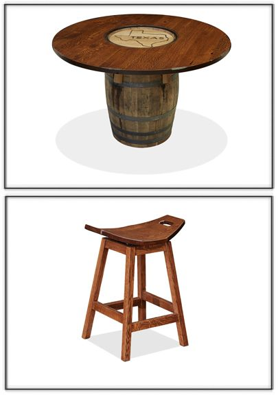 66 best Home Theater Game Room images on Pinterest : 80b3561513fdf9bf124430f9cac29e11 whiskey barrel table whiskey barrels from www.pinterest.com size 405 x 576 jpeg 26kB