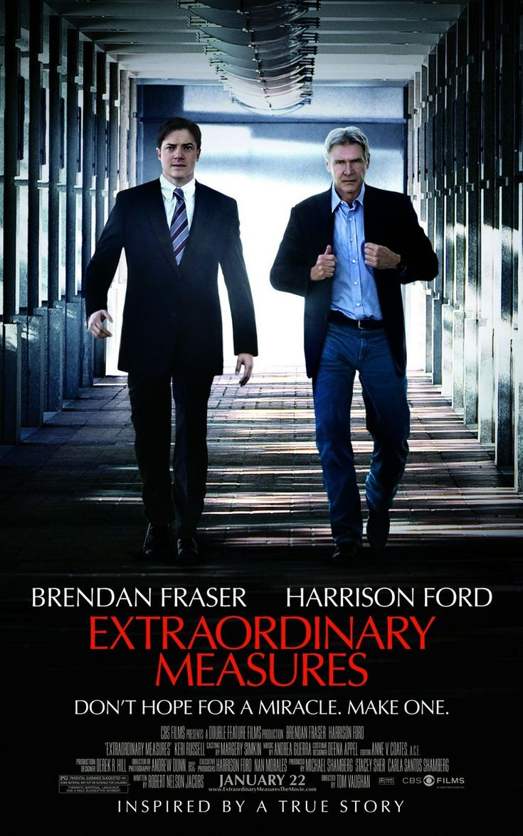 Extraordinary Measures / Tom Vaughan This is just an out standing move and true story it made me smile, cry and know there is hope