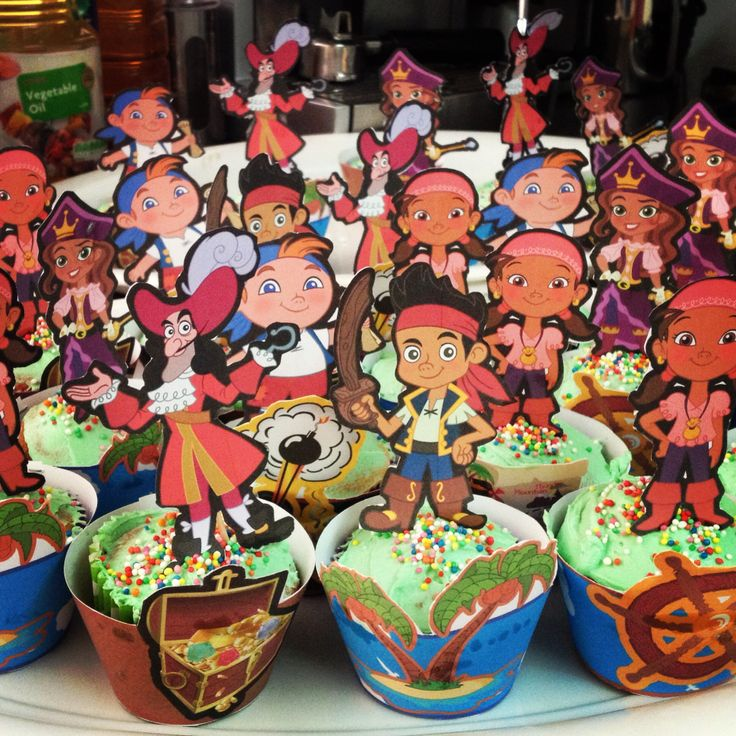 jake and the neverland pirates cupcakes - photo #15