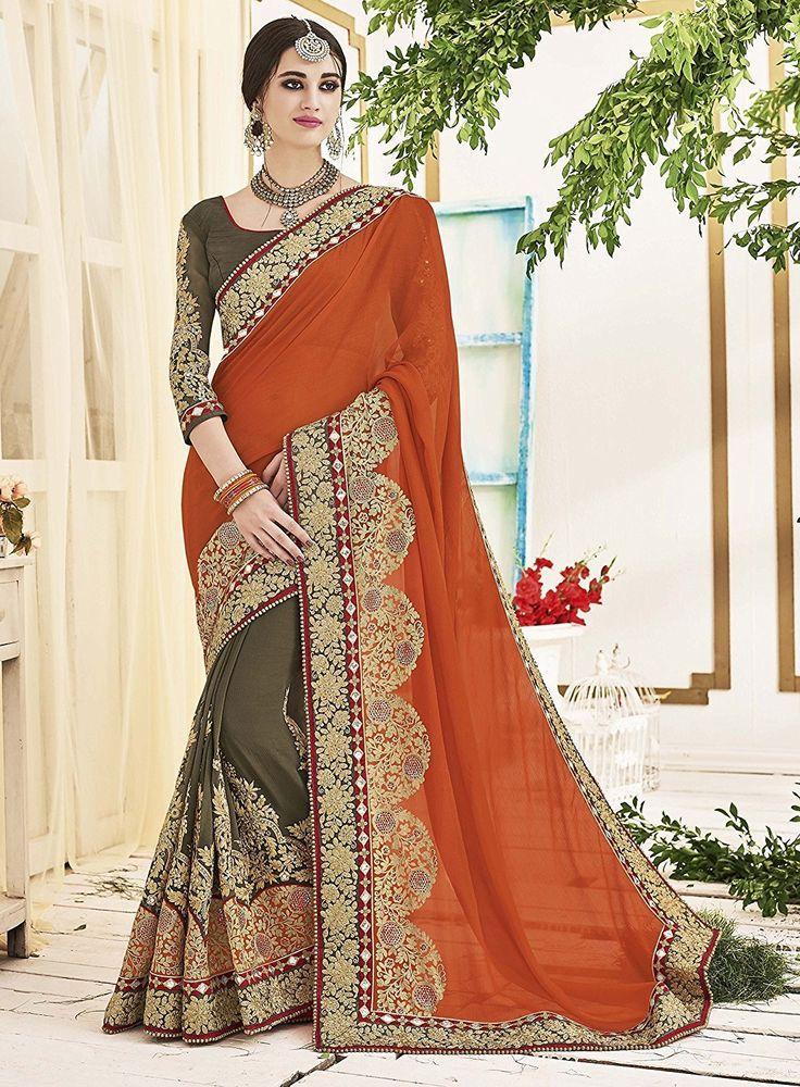 Bollywood Saree Indian Pakistani Ethnic Party Wedding Traditional Designer Sari