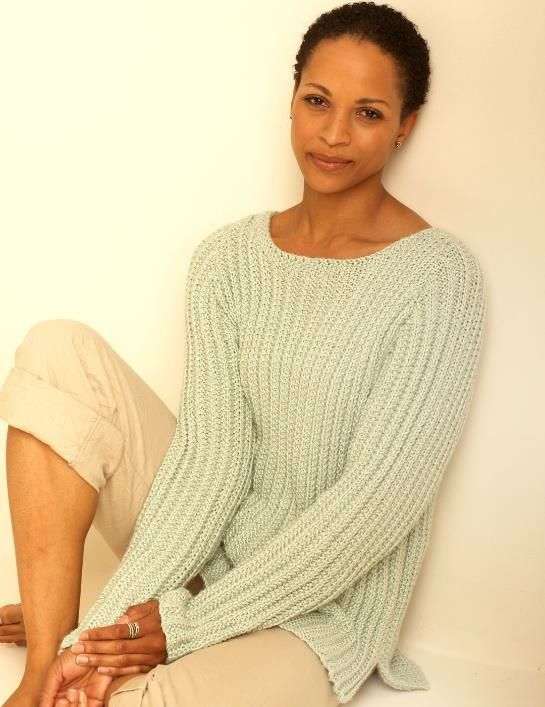 This casual sweater options a rough  sew that drapes fantastically once you…