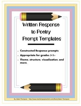 response to various poems What is a response journal  choose poetry, stories or books with enough depth to elicit responses  responses what are the different formats for response .