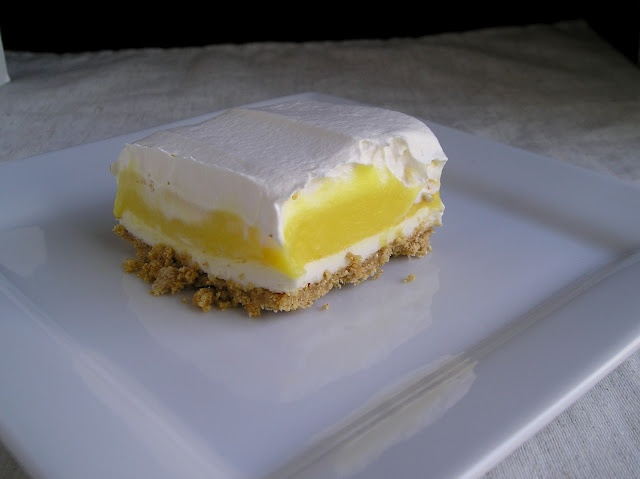 Jello Lemon Cooler Cake