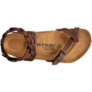 Birkenstocks, Atami. Braided gladiator sandals, #shoes #fashion #braidedshoes
