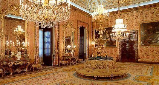 Madrid Royal Palace Interior 56793 Bytes