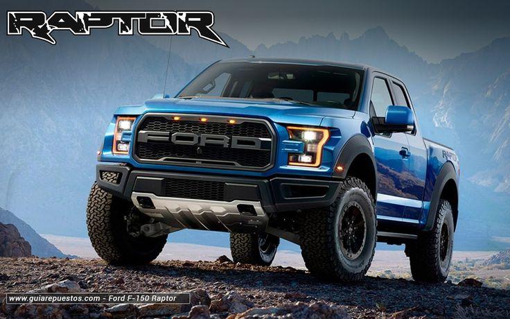 Ford Raptor 2017 www.guiarepuestos.com