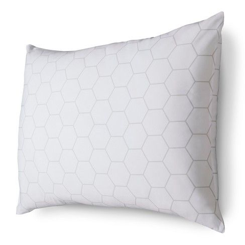Enjoy luxurious comfort each and every night and at a value you'll love with the Room Essentials, Won't Go Flat Firm Pillow. This cleverly engineered bed pillow will maintain its firmness and shape thanks to a structure of sturdy polyester and a supporting panel of polyurethane foam at its core. Firm pillows are ideal for side and back sleepers.