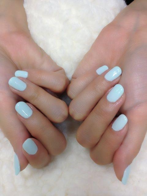 Nails Colors, Spring Nails, Baby Blue Nails, Beautiful, Bluenails, Summer Nails, Nails Polish, Something Blue, Robin Eggs Blue