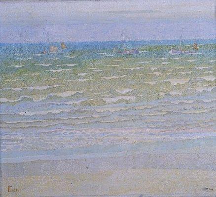 Jan Toorop, De Zee / The sea, 1899, oil on canvas