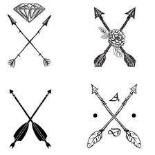 crossed arrows tattoo - Buscar con Google