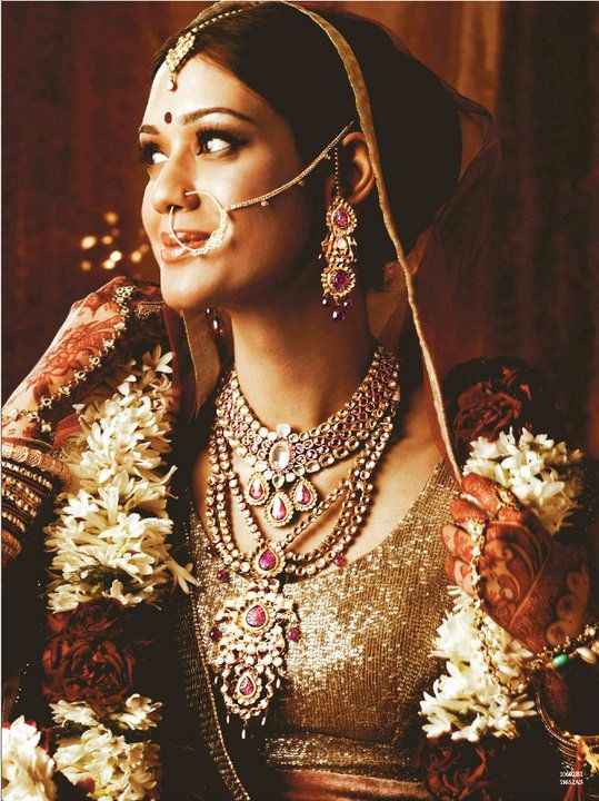 A WEDDING PLANNER: Tanishq Kundan wedding bridal jewellery