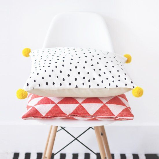Learn how to spruce up a plain cushion with this tutorial by the Lovely Drawer. (via The Lovely Drawer)