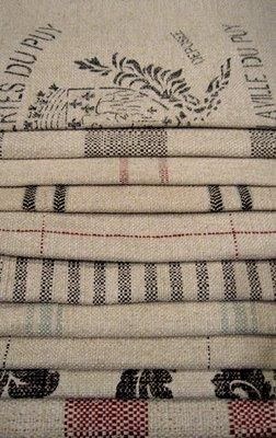 French Laundry Fabric Stack