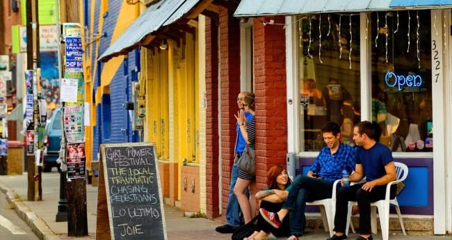 New York has SoHo, and Charlotte has NoDa (for North Davidson Street). This former mill-community-turned-arts-district screams bohemian chic. Just north of Center City, NoDa is home to a funky collection of galleries, performance venues and dining hot spots.