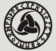 «Triple Horn of Odin, Celtic Knot, Triforce, Odin Symbol» de nitty-gritty