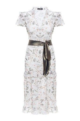 Vestido Midi Floral Beatrice
