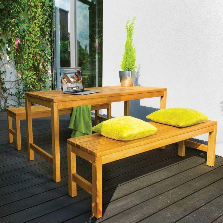 Gartenmöbel set mit bank  Die besten 25+ Sitzgruppe esszimmer Ideen auf Pinterest | Moderne ...