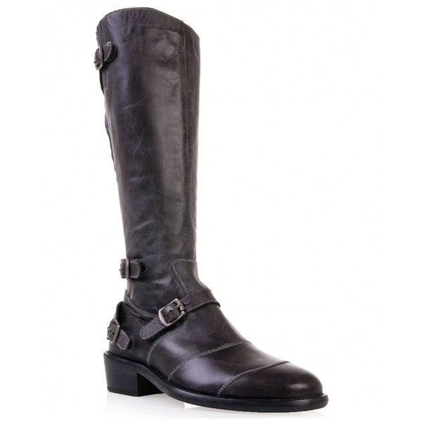Belstaff LEATHER TRIALMASTER BOOTS as seen on Blake Lively ❤ liked on Polyvore featuring shoes, belstaff boots, leather footwear, leather shoes, real leather boots and leather boots