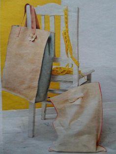 Zelf tas maken van leer met simpel patroon - Hobby