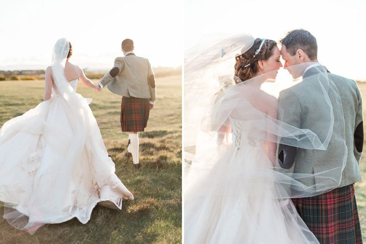 Eleganza Sposa Glasgow | Classic Country House Wedding | Groom & Groomsmen in Kilts | The Barefoot Brunettes Photography