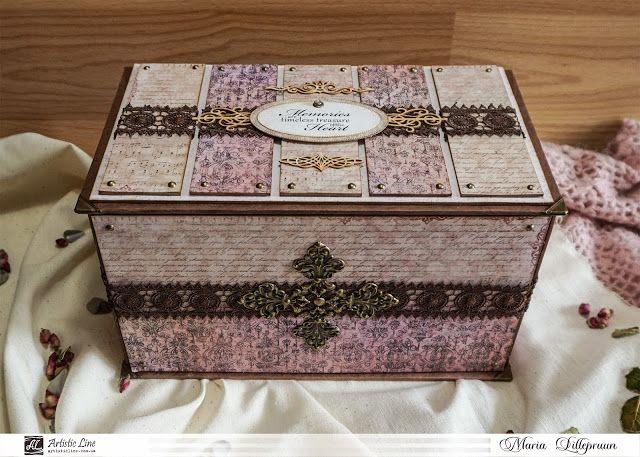 Handmade memory box