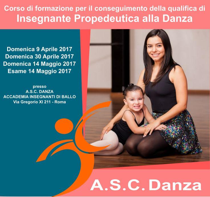 corso insegnanti propedeutica alla danza insegnare danza ai bambini diploma nazionale asc riconosciuto coni
