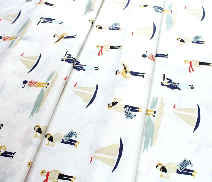 Birch Fabrics Saltwater Ahoy Sailor