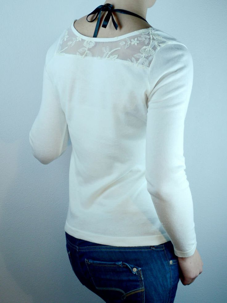 White blouse with lace back jys boutique tops for Boutique tops