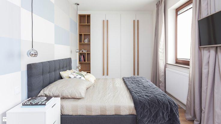 Sypialnia - zdjęcie od PRACOWNIE WNĘTRZ KODO - Sypialnia - Styl Nowoczesny - PRACOWNIE WNĘTRZ KODO