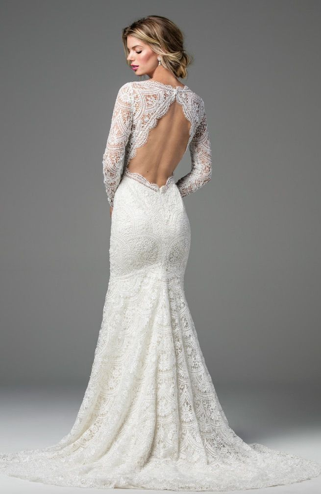 Courtesy of Wtoo by Watters Wedding Dresses; Wedding dress idea. #weddingdresses