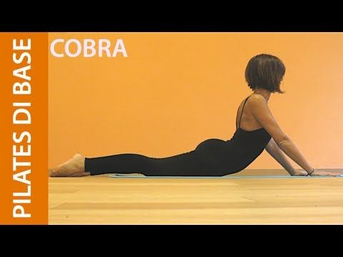 Matwork Pilates - Esercizi di Base - Addominali Obliqui - YouTube