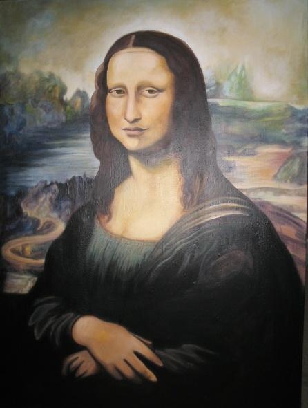 MONALISA (For a Friend) - (80 x 100cm)