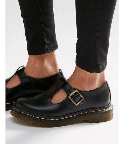 Doc Martens Dr Martens Core Polley T-Bar Flat Shoes – Black