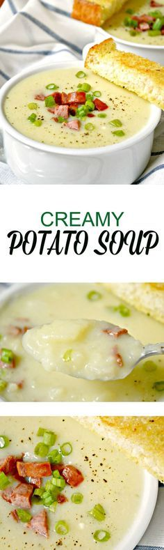 Creamy Potato Soup is guaranteed to warm you up from the inside, out. It has a rich and creamy taste thanks to the addition of cream cheese.