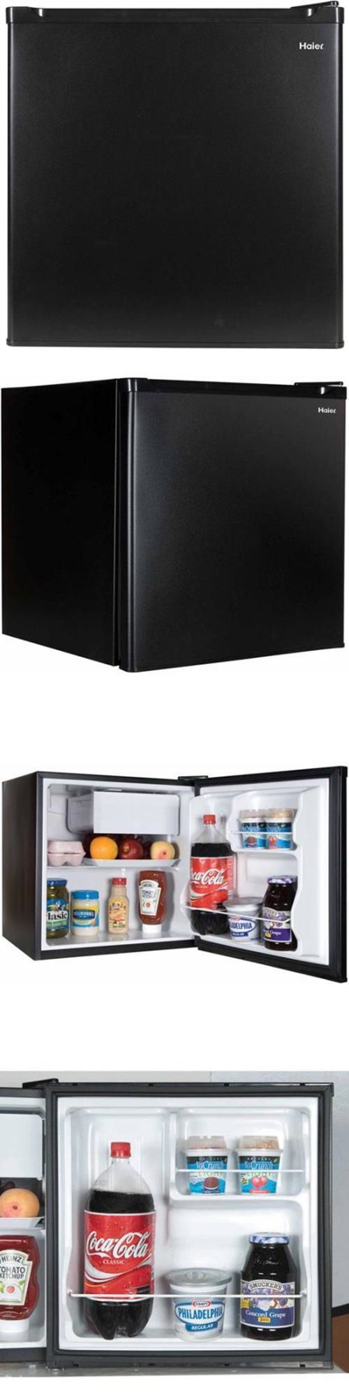 Mini Fridges 71262: Haier 1.7-Cu. Ft. Refrigerator Black Compressor Cooling Free Shipping *New* -> BUY IT NOW ONLY: $67.45 on eBay!