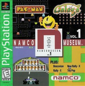 Complete Namco Museum Vol. 1 Greatest Hits - PS1 Game