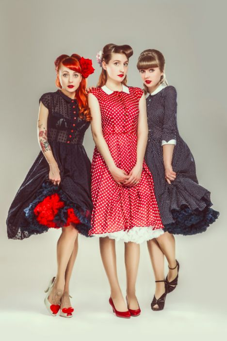 Rockabilly Fashion from Lazy Eye. Rockabilly Dresses, petticoatdresses and more