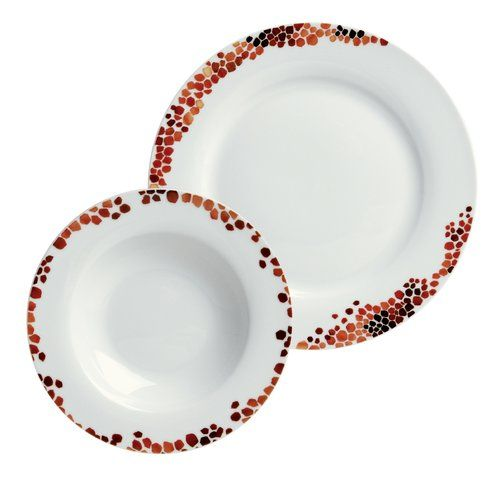 Found it at Wayfair.co.uk - Umbria Porcelain Dinnerware Set  sc 1 st  Pinterest : best dinner plate sets - pezcame.com