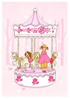 Ava and the Carousel by Belle & Boo