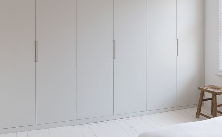 Bespoke fitted wardrobes across three bedrooms in a Victorian terraced home.