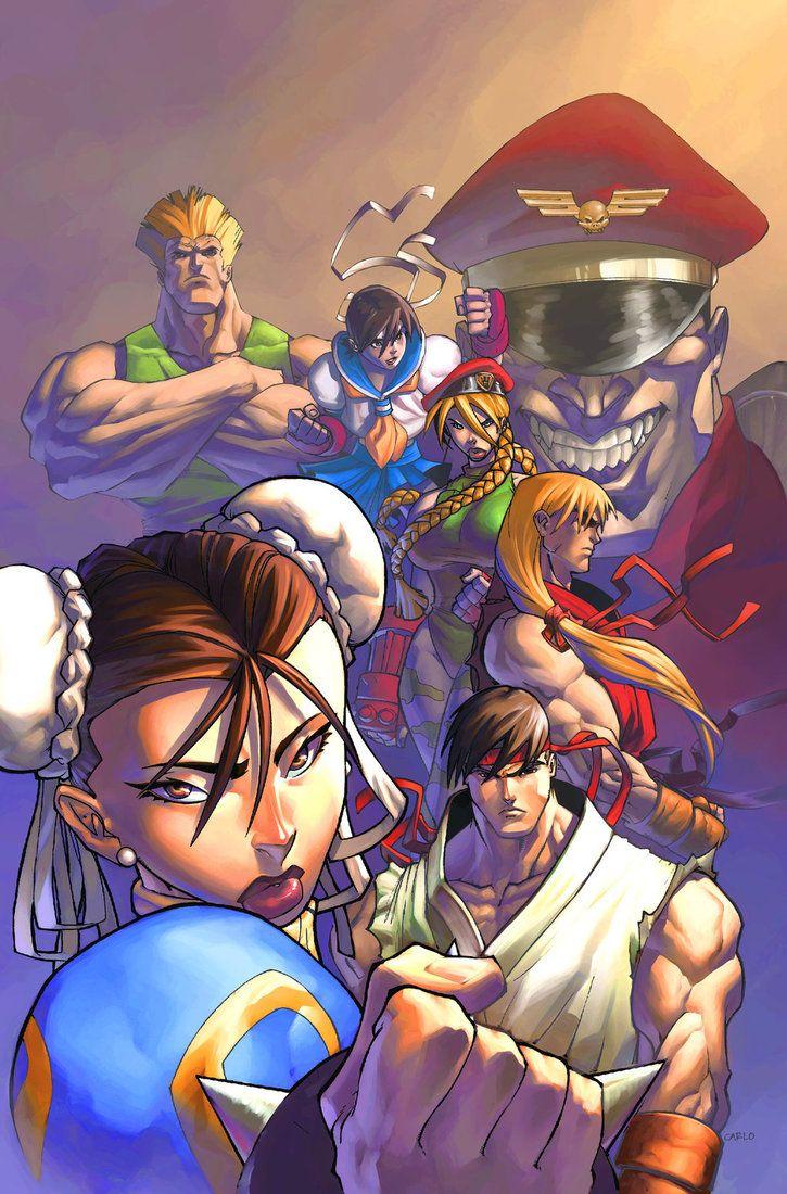 street fighter anime german
