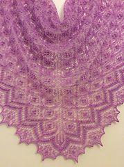 Ravelry: Birds' nest shawl pattern by Athanasia Andritsou free